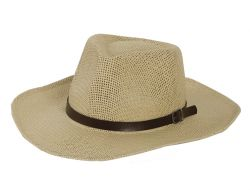 SOMBRERO DE YUTE ALA 8CM COLOR NATURAL